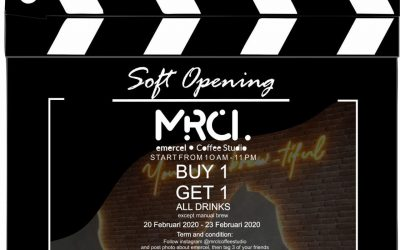 SOFT OPENING MRCL Emercel Coffee Studio