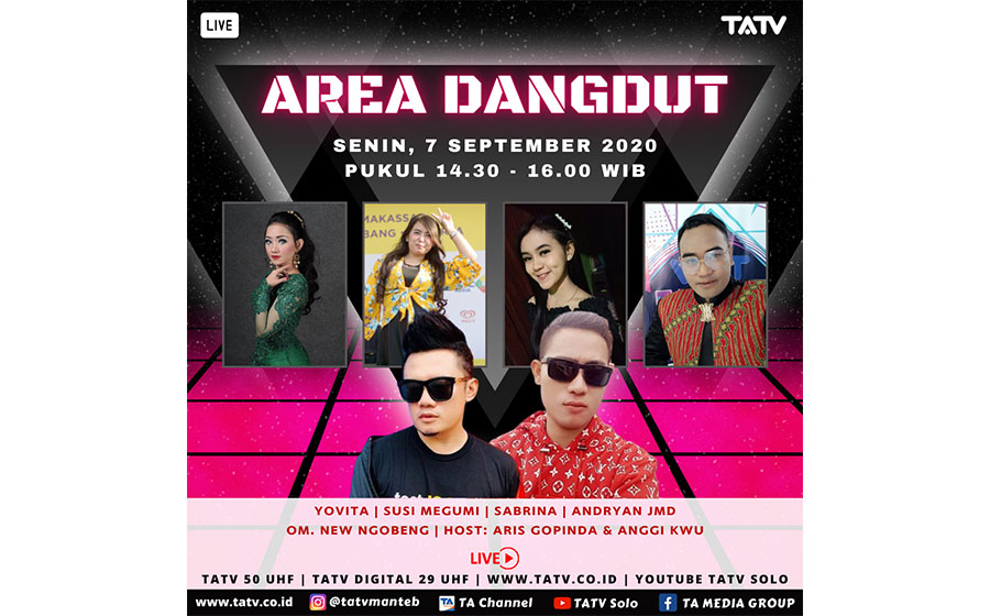LIVE AREA DANGDUT 7/9/2020