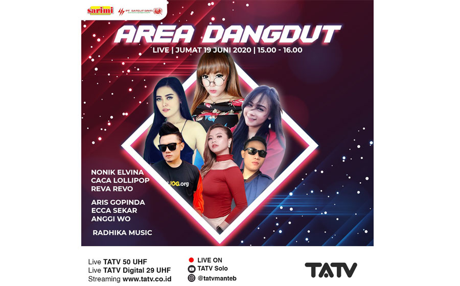 LIVE AREA DANGDUT 19 JUNI 2020